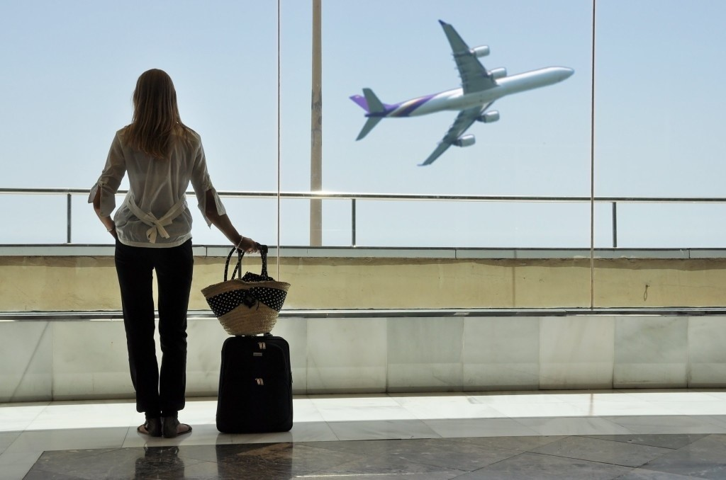 vakantievliegtuig